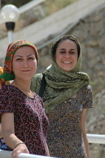 Smiling Women - Paraw Bibi, Turkmenistan