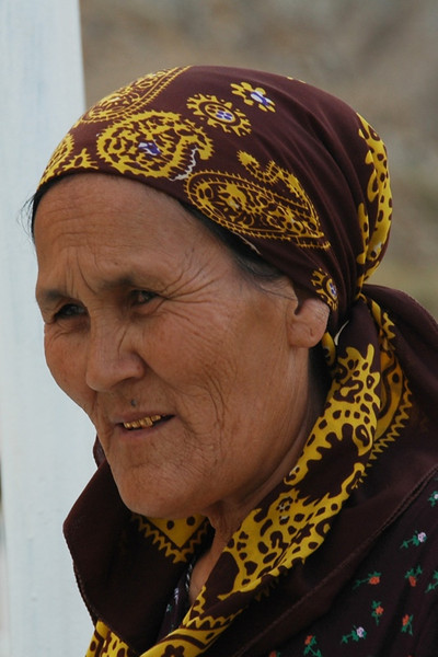An Elderly Pilgrim - Paraw Bibi, Turkmenistan