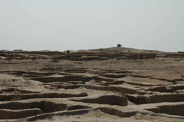 Overlooking Gonur Depe Archeological Site -Turkmenistan