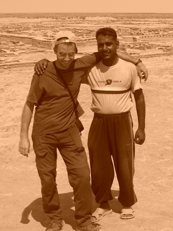 Geologist and an Archaeologist - Gonur Depe, Turkmenistan