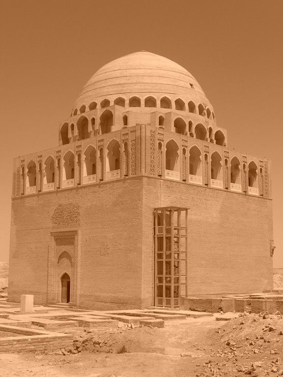 Mausoleum at Merv, a Silk Road City in Turkmenistan