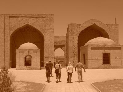 Timurid Mausoleum - Merv, Turkmenistan