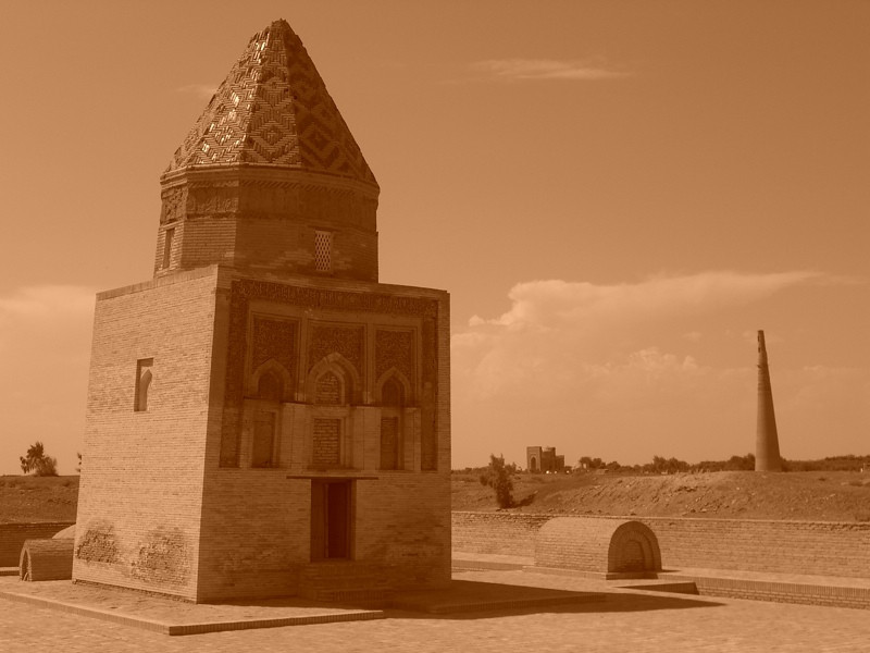 Il-Arslan Mausoleum - Konye-Urgench, Turkmenistan