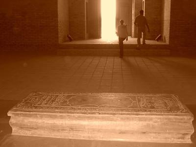 Tomb inside Mausoleum at Merv, Turkmenistan