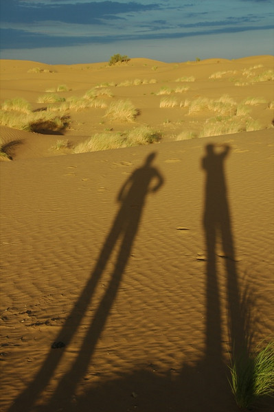 Shadows at Dusk - Karakum Desert, Turkmenistan