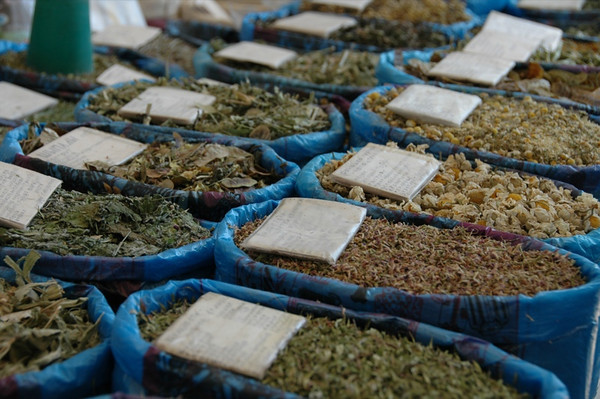 Herbal Teas at Gulustan Market - Ashgabat, Turkmenistan