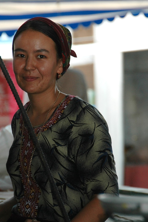 Young Vendor at Food Market - Mary, Turkmenistan