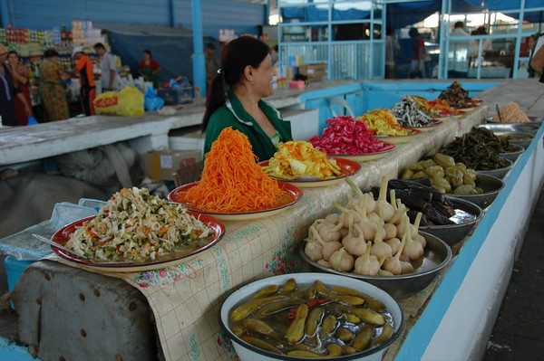 Pickled Vegetables at Market - Turkmenbashi, Turkmenistan