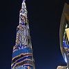 dubai - burj khalifa at night