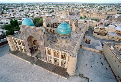Mir-i-Arab medressa from above