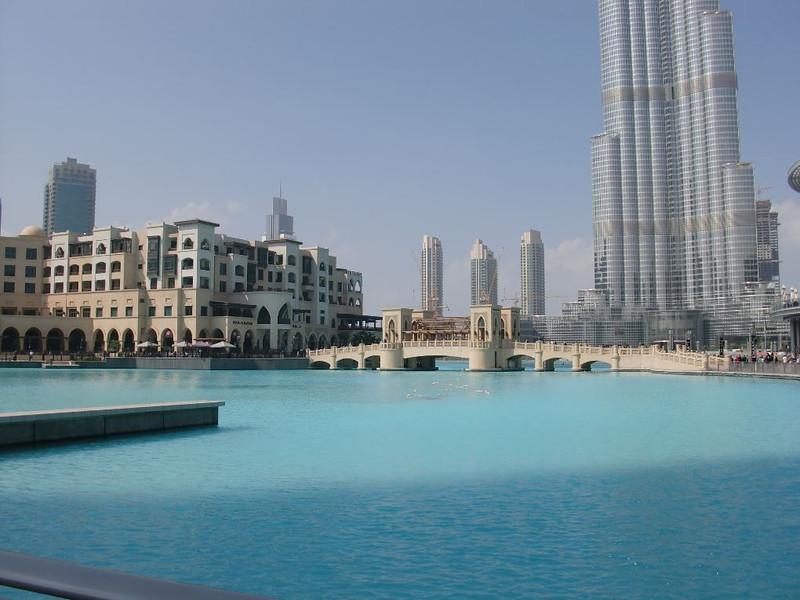 burj khalifa park