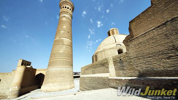 The Kalyan minaret and mosque