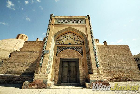 A caravanserai from those Silk Road days