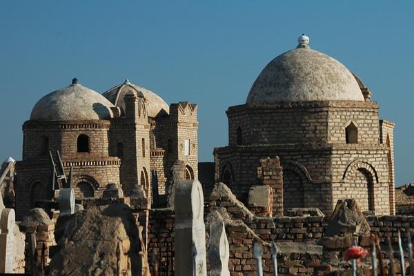 Mausoleums at Mizdakhan Cemetery - Nukus, Uzbekistan