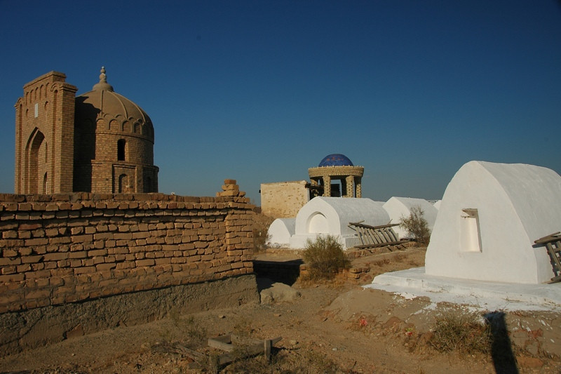 Mizdakhan Cemetery - Nukus, Uzbekistan