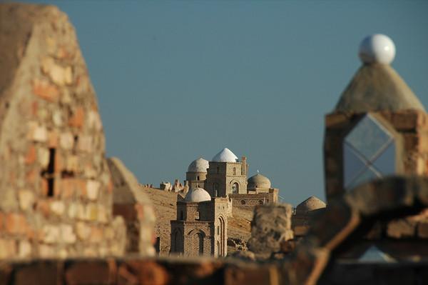 Cemetery Skyline at Mizdakhan - Nukus, Uzbekistan