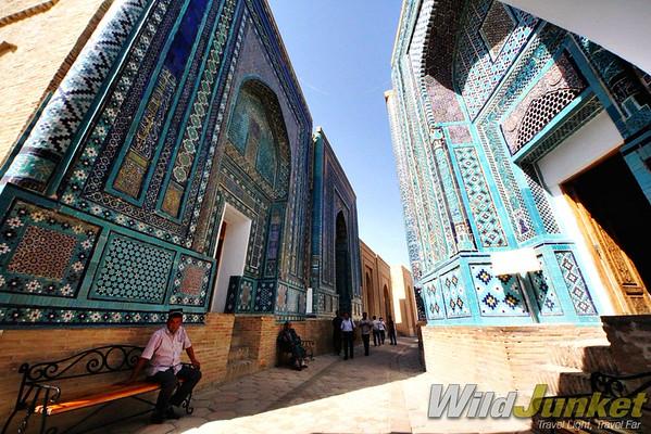 The Avenue of Mausoleum