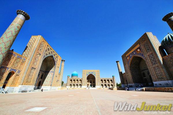 The Registan of Samarkand
