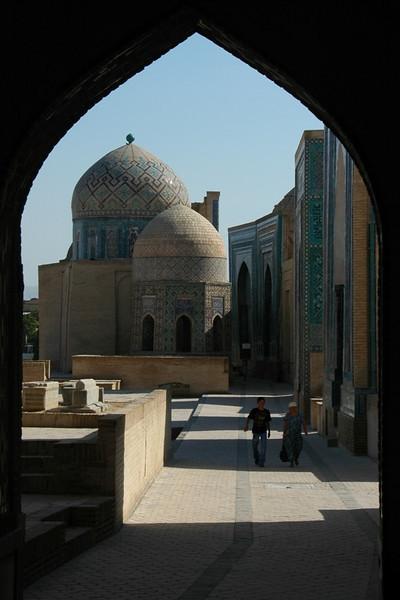 Samarkand's Mausoleums - Samarkand, Uzbekistan