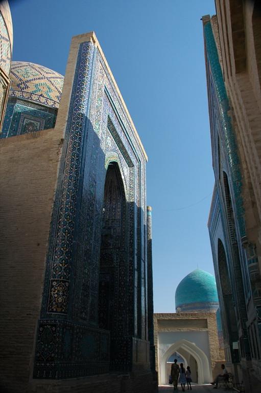 Mausoleum Alley - Samarkand, Uzbekistan