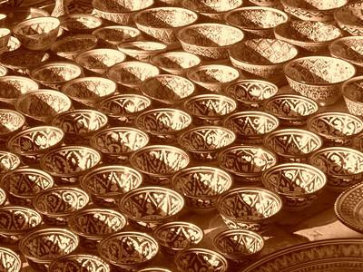 Ceramics for Sale - Bukhara, Uzbekistan