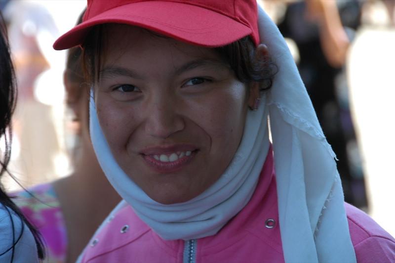 Dancer Dressed in Pink - Samarkand, Uzbekistan
