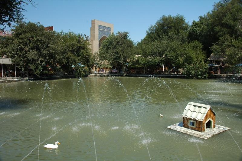 Lyabi-Hauz Fountain - Bukhara, Uzbekistan