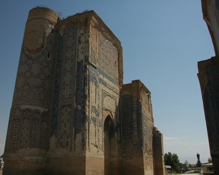 Ak-Saray Palace - Shakhrisabz, Uzbekistan