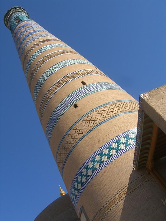 Islam Khoja Minaret - Khiva, Uzbekistan