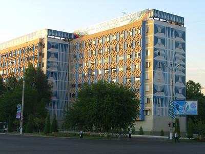 Mosaics on Soviet Bloc Buildings - Tashkent, Uzbekistan