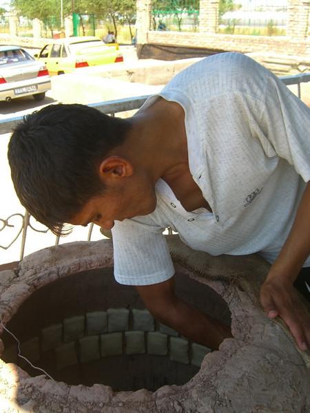 Somsa in the Oven - Nukus, Uzbekistan