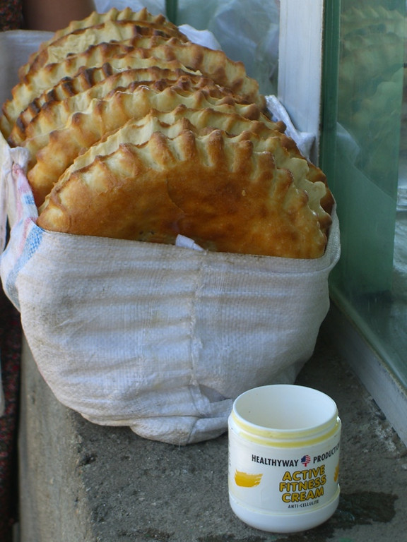 Greased Bread? Samarkand, Uzbekistan