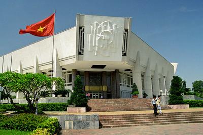 Ho Chi Minh's Mausoleum...