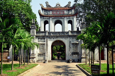 The temple of literature...