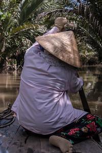 Mangrove Canal - Mekong Delta