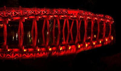 Hoan Kiem Lake Bridge - Hanoi
