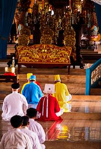 Cao Dai Noontime Service- Tay Ninh