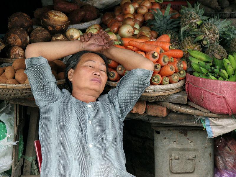 In Hue's Dong Ba Market...