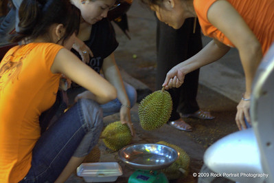 Selecting Durian