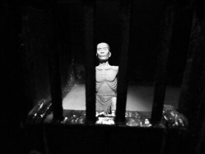 Hoa Lo Prison, aka Hanoi Hilton - The dungeon