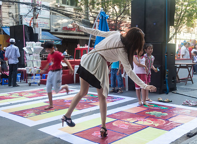 Vietnamese hopscotch by the look of it.