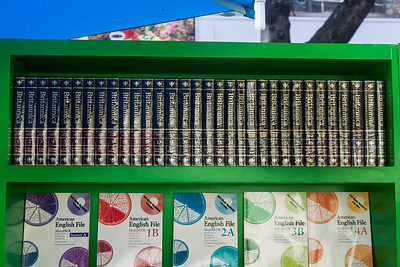The full Encyclopaedia Britannica is offered for sale, even though it is totally redundant, thanks to the internet.