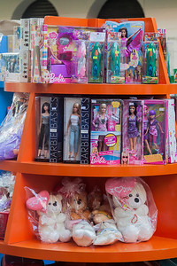 I see no connection between Barbie and books, but that doesn't stop some enterprising traders.