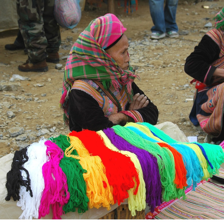 Colorful Threads - Bac Ha, Vietnam