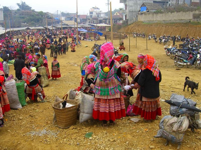 Bac Ha Market - Bac Ha, Vietnam