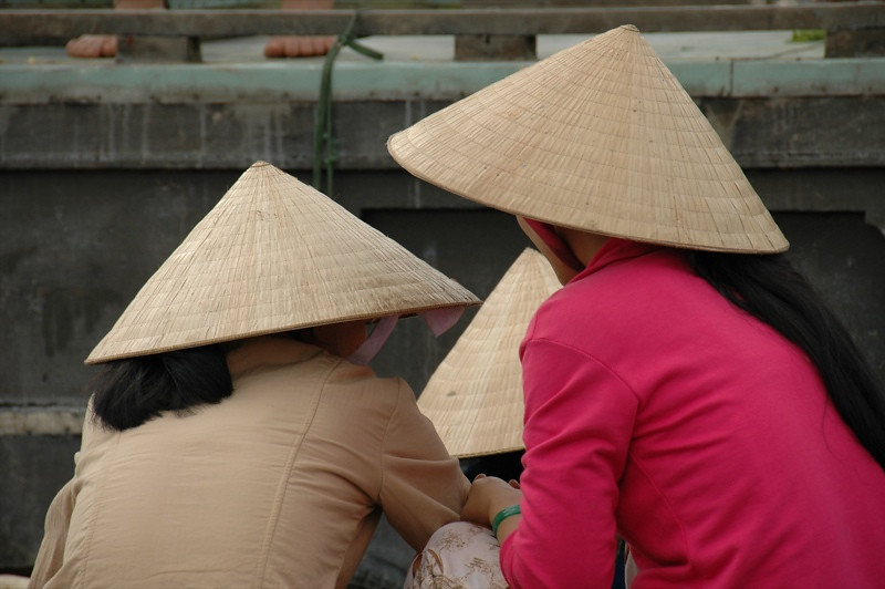 Women at Cai Rang - Mekong Delta, Vietnam