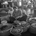 At the Nunavutfloating market near Can Tho, Vietnam.