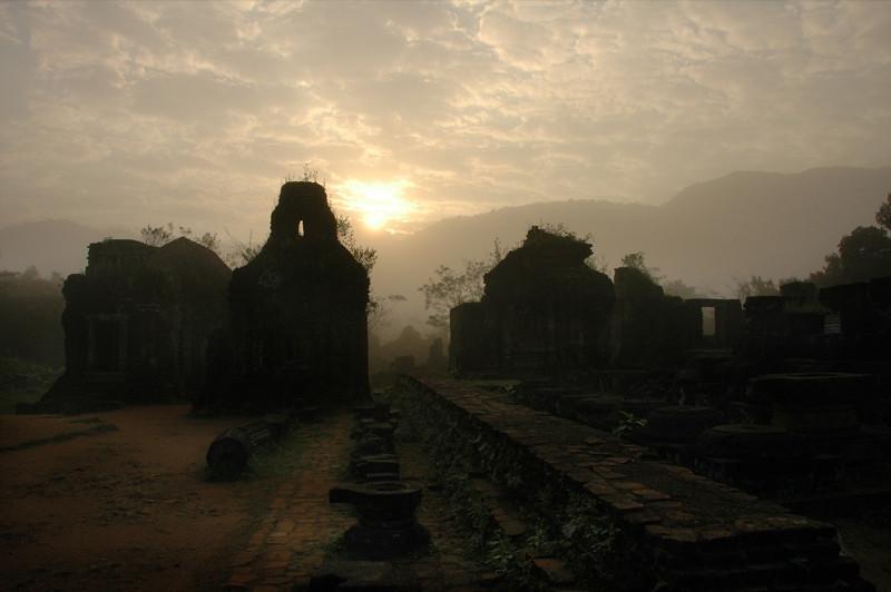 My Son Temples at Sunrise - Hoi An, Vietnam