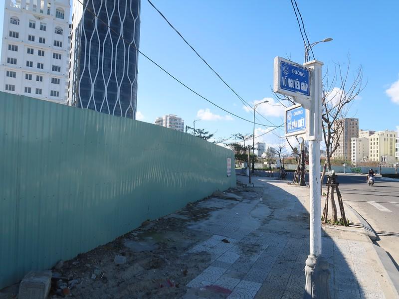 Corner of Vo Nguyen Giap and Vo Van Kiet