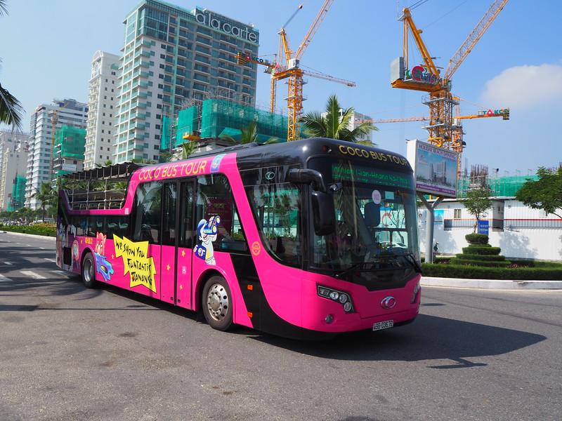 Cocobay bus in Da Nang